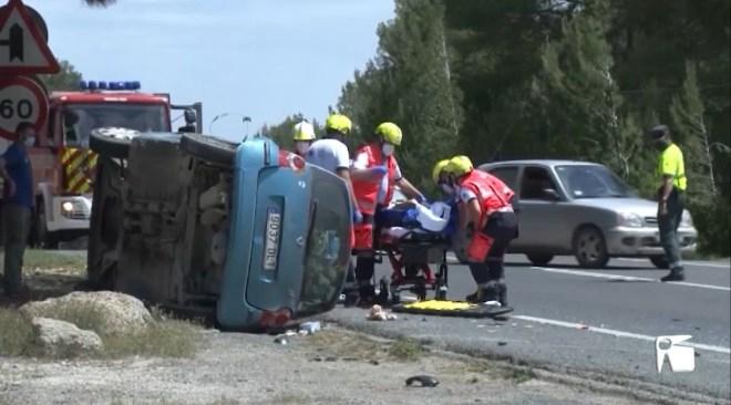 04/05/2021 Accident múltiple amb dos ferits