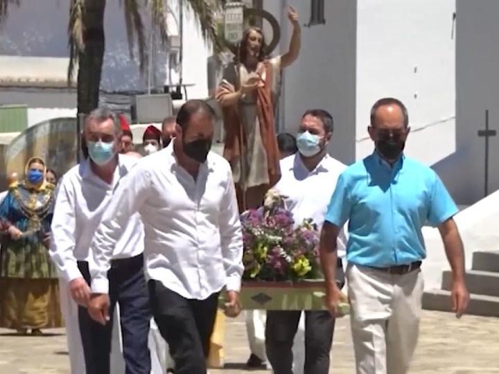 24/06/2021 El poble de Sant Joan celebra el seu patró