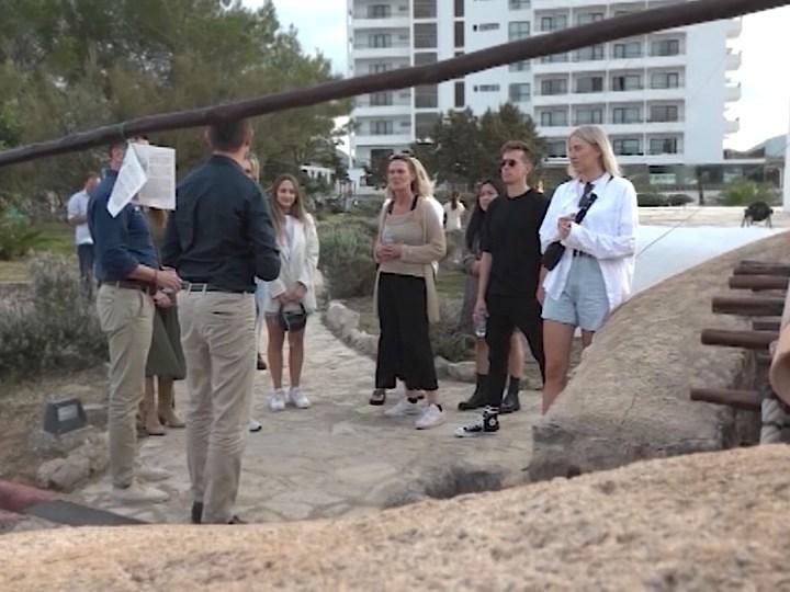 21/10/2021 Periodistes neerlandesos visiten Sant Antoni