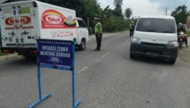 Operasi Zebra 2016, Polres Aceh Timur Tindak 223 Pengendara FOTO : ROBY