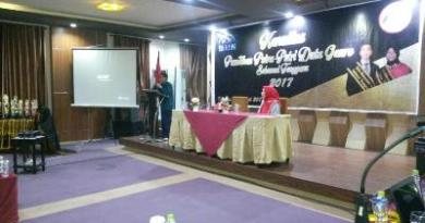 pelatihan cara menghindari resiko TRIAD KRR. Dalam pelatihan ini dihadiri oleh kepala BKKBN perwakilan Sulawesi Tenggara di salah satu hotel di kota kendari. FOTO : BAIM..J