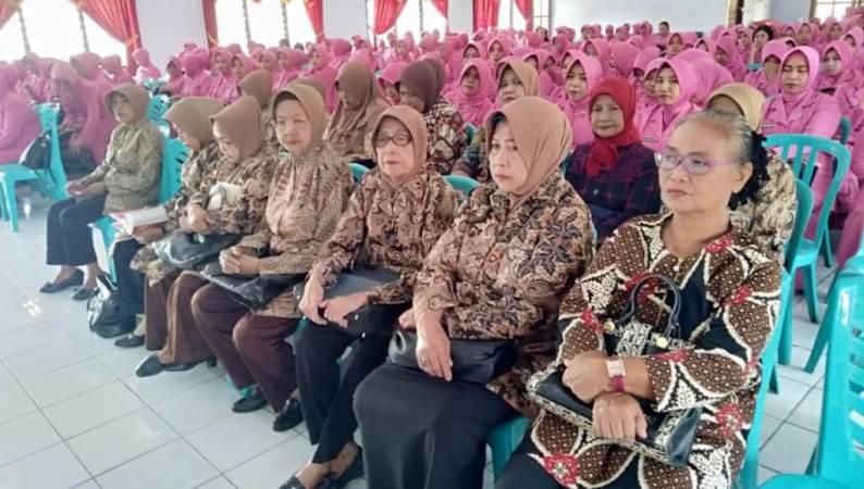 Eratkan Silaturahmi, Bhayangkari Polres Baubau Gelar Halal Bihalal