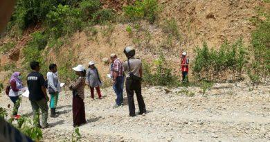 Hakim PN Raha Tinjau Lokasi Sengketa Tanah di Labuan