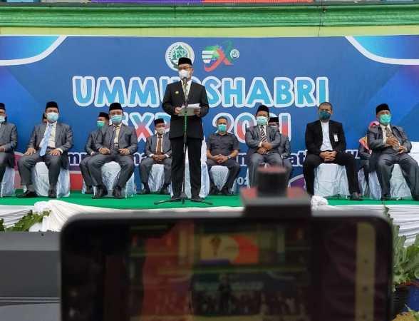 Sambutan Wali Kota Kendari dalam kegiatan Expo Ummushabri ke 10. Sabtu, (9/1)