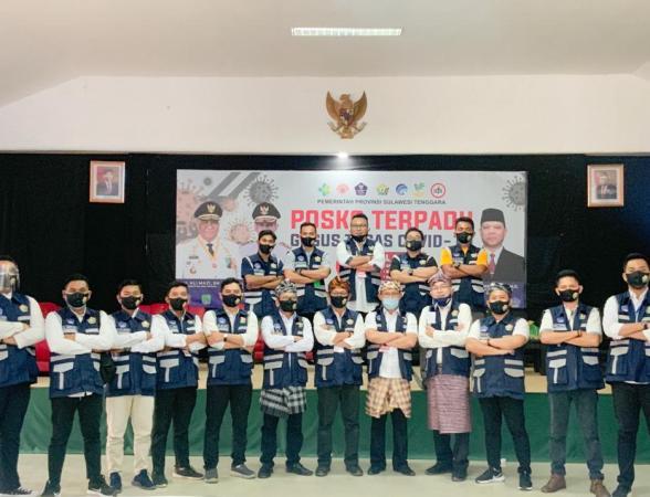 Sahabat Vaksin jafi Platform Baru dari Satgas Pemuda Covid-19 Sultra