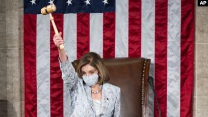 Ketua DPR Amerika, Nancy Pelosi (foto: dok).