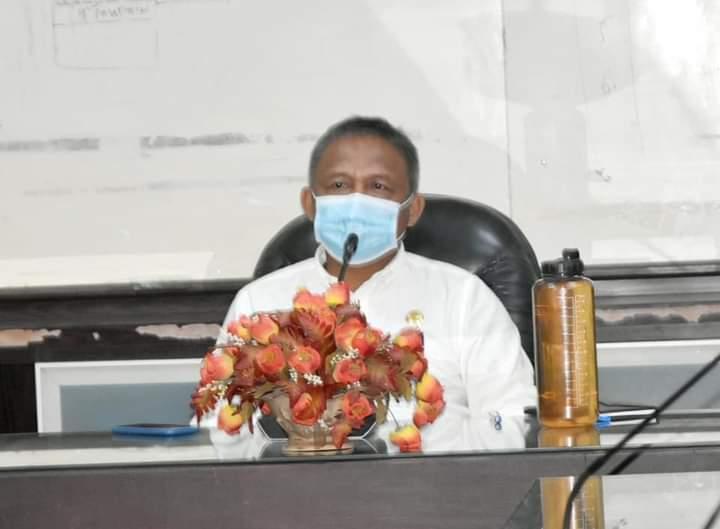 Sekda kota Baubau, Dr. Roni Muhtar, M.Pd