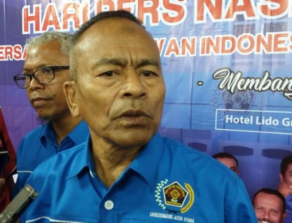 Ketua PWI Pusat, Atal Sembiring Depari