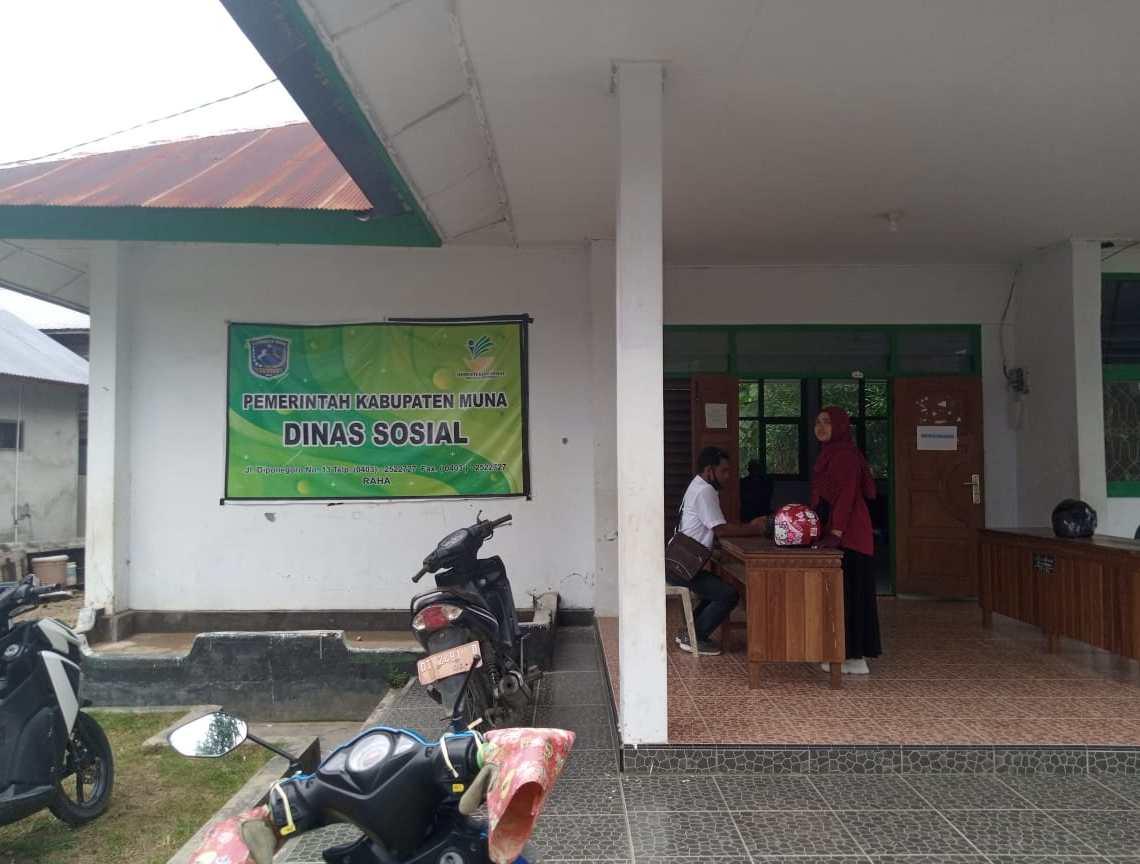 Dinas Sosial Kabupaten Muna