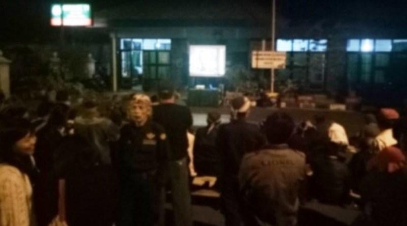Koramil Keraton Gelar Nobar Film Gerakan 30 September di Markas