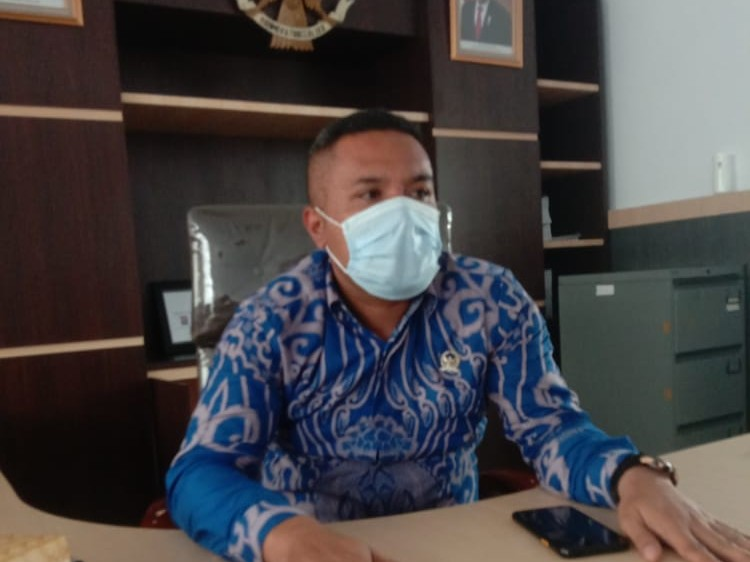 Ketua Komisi III DPRD Kota Kendari, LM. Rajab Jinik