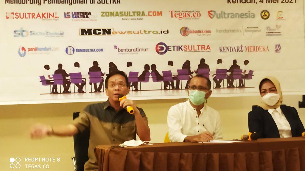 Diskusi Publik, AMSI: Junjung Tinggi Etika dan Kebenaran serta Kode Etik Jurnalistik
