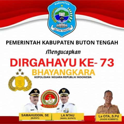 Iklan HUT Bhayangkara Buteng