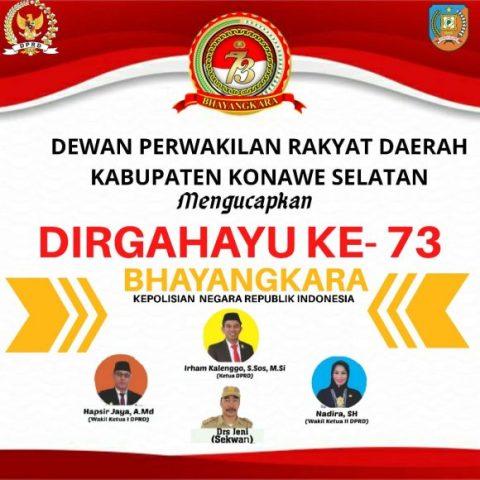 Iklan HUT Bhayangkara DPRD Butur