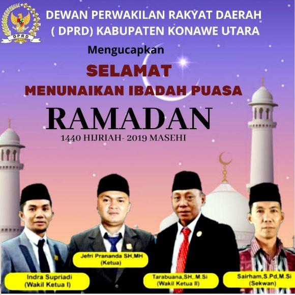 Iklan Ramadan 1440 H DPRD Konut AJIS
