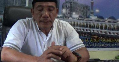 Kasi PHU Kemenag Kolaka H. Agus Ramadhan. FOTO : ASDAR LANTORO