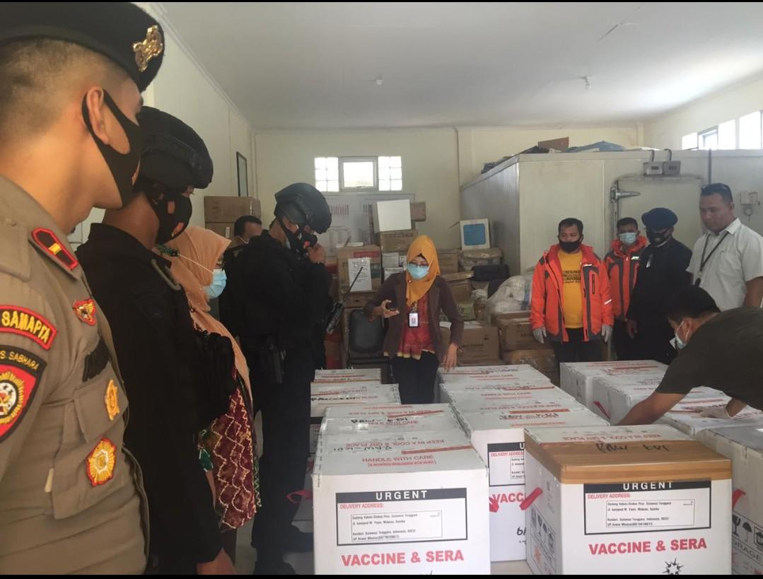 Vaksin Covid-19 tahap kedua akhirnya tiba di Sulawesi Tenggara (Sultra)