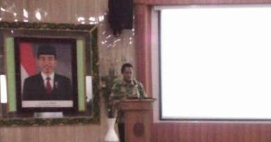 Walikota Yogyakarta, Haryadi Suyuti saat memberikan sambutan. FOTO : NADHIR