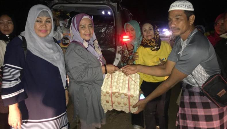 BKMT Sultra Ajak Warga Bantu Korban Banjir