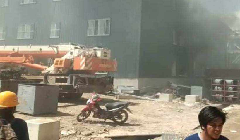 Laboratorium Kimia Terbakar di Konawe, 19 Pekerja Dilarikan ke Rumah Sakit