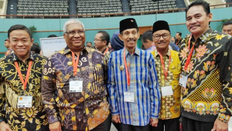 Ali Mazi Hadiri Expo and Forum Smart Citty Indonesia Internasional