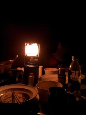 夜はベロベロです