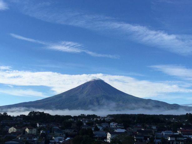 翌日の富士山