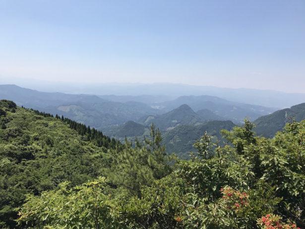 釈迦ヶ岳からの眺望