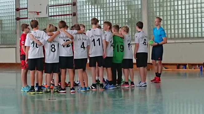D Jugend tegel Handball