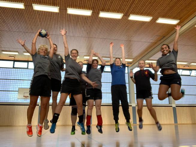 Handball Frauen Tegel 2