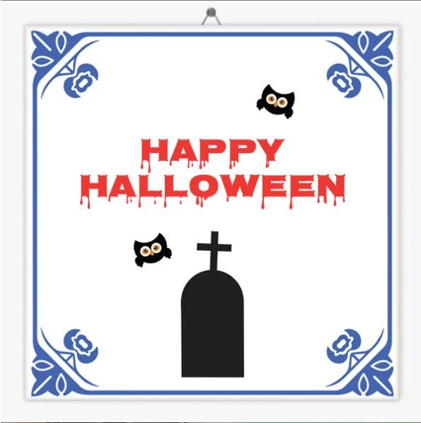Halloween tegeltjes