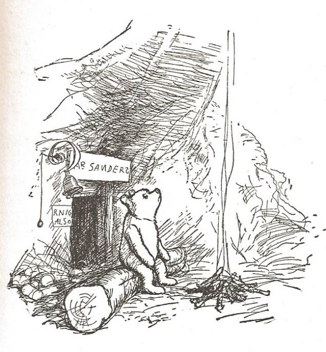 Winnie-the-Pooh's home by E H Shepard