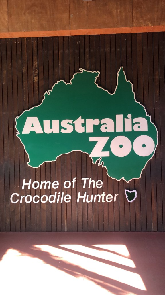 Sign at entrance to Australia Zoo