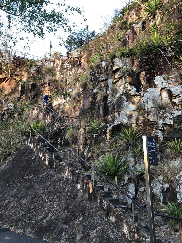 Stairs at Kangaroo Point Cliffs
