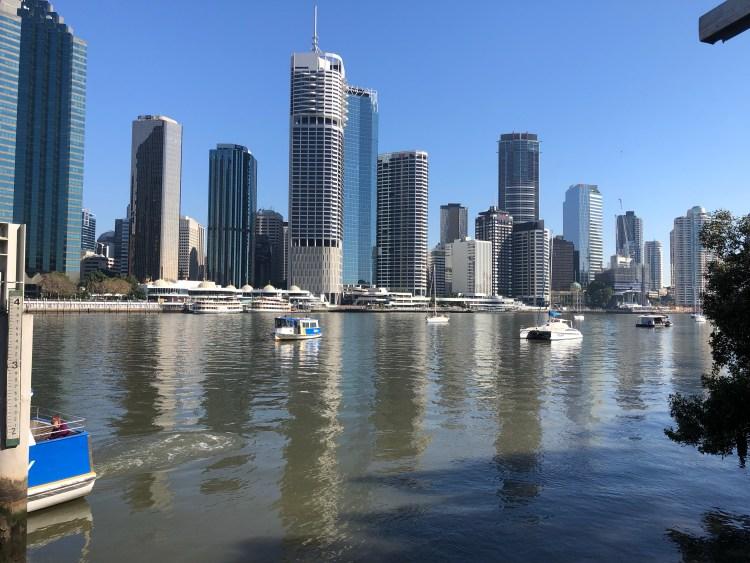 Skyline of Brisbane