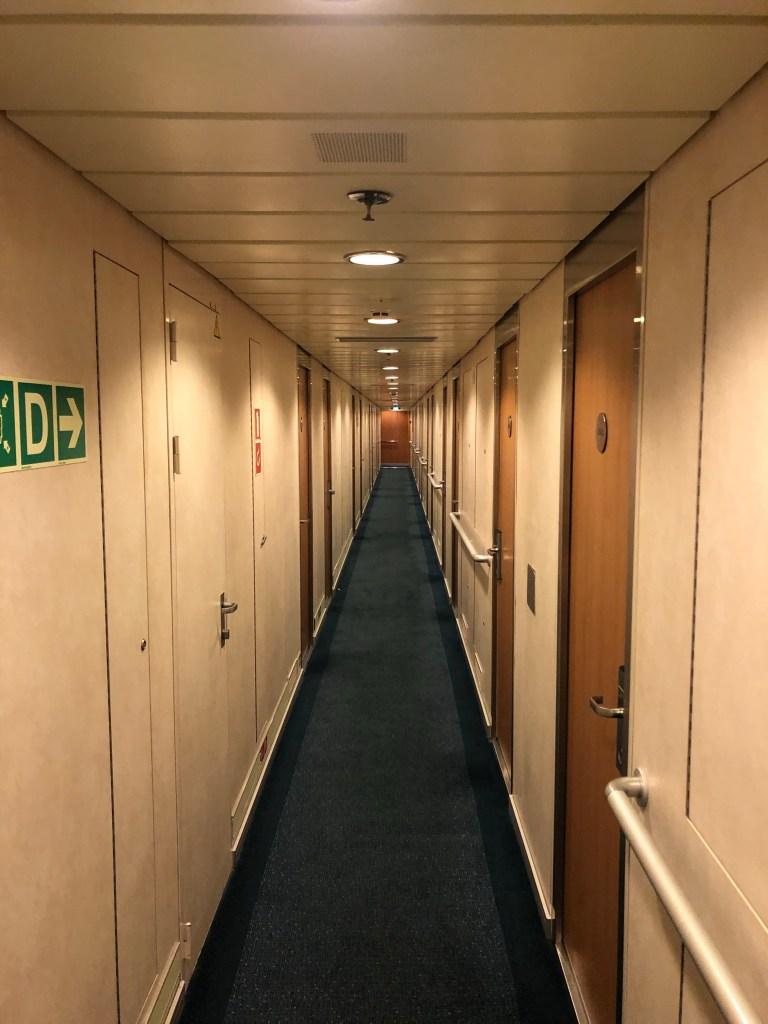 Hallway in ferry