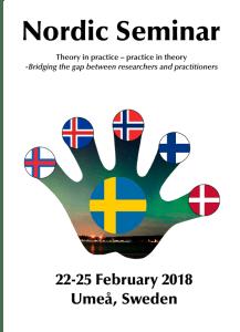 Nordic Seminar 2018