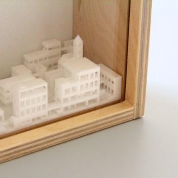 City in a vitrine