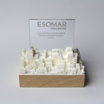 Trophies for ESOMAR