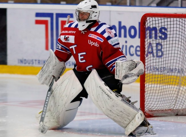 Joakim Andersson i kassen