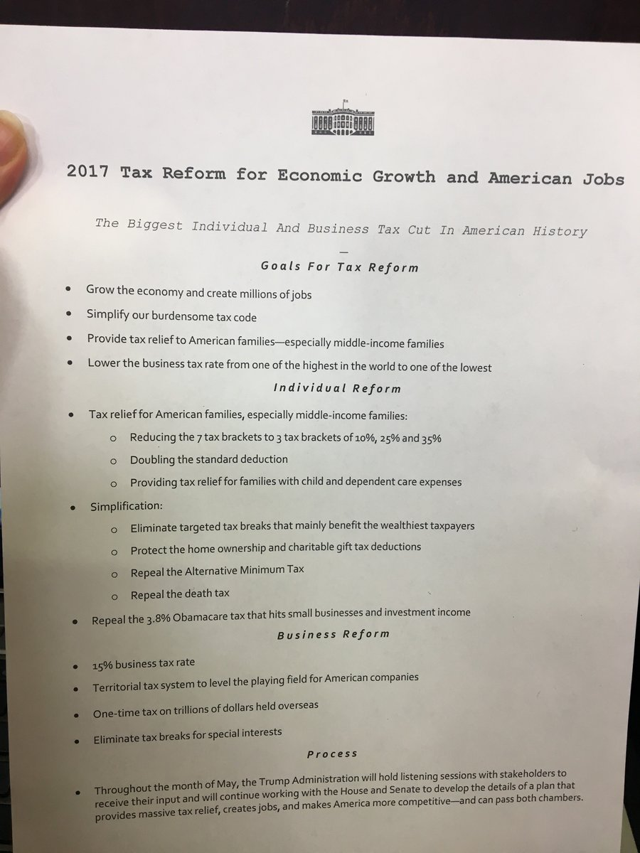 Not All Businesses Benefit the Same Under Trump s Tax Proposal proposal Enterprises with international business operations often hide or  park profits abroad to defer U S taxes  It is a common thought that this  strategy
