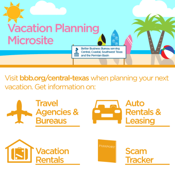 Vacation Planning Microsite Graphic, 2016