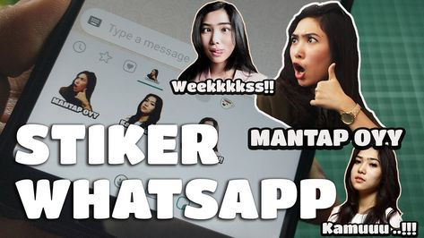 membuat stiker di whatsapp