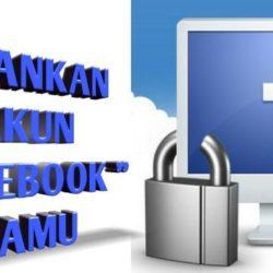 Mengamankan akun facebook