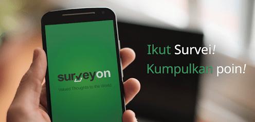 surveyon Aplikasi penghasil uang