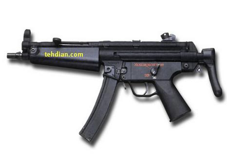 mp5 senjata SMG mematikan