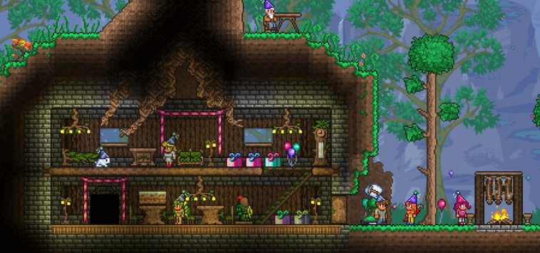 terraria game android story