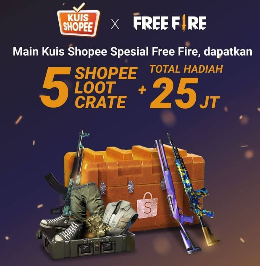 kuis shopee free fire