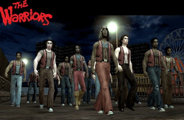 the warriors ps2
