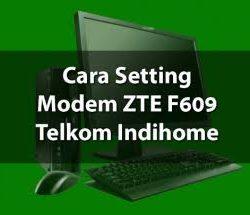 cara setting modem indihome